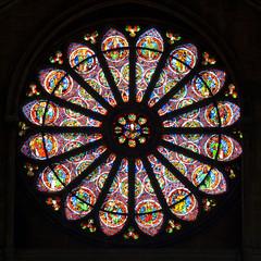 Rosace de Saint-Remi de Reims