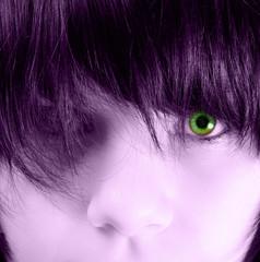 grünes auge #1
