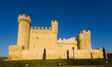 The Castle of Cartagena, a town of Sasamon Olmillos, Burgos poster