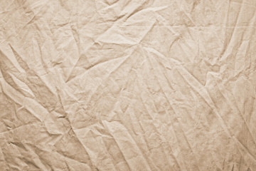Background of crumpled dense fabric