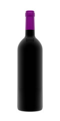 Purple Wine Bottle