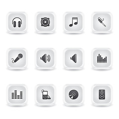 ice square audio icons