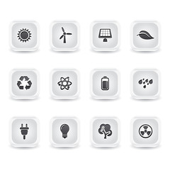 ice square energy icons