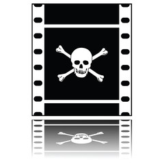 Pirated movie