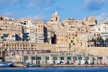 View of old Valletta