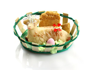 Dolce Agnello Pasquale - Easter Lamb Cake