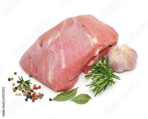 Knoblauch, Kalbfleisch