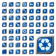 54 Symbole, Icons, Buttons, Web