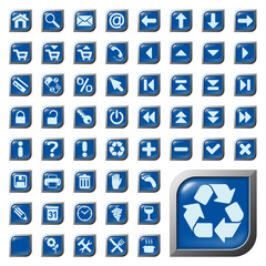 54 Symbole, Icons, Buttons, Web