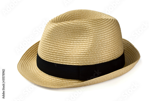 Summer panama straw hat - 31578962