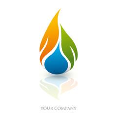 logo entreprise, logo énergie