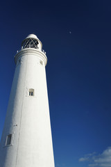 Lighthouse and moon 2