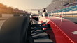 formula one racecar