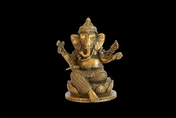 Deity of Ganesha from India