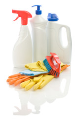cleaning objects isolated