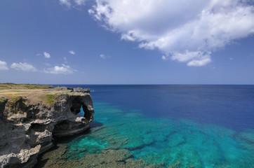 Seascape in Okinawa,Japan