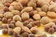 fruits secs : noix, noisettes et amandes