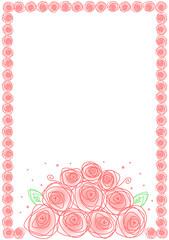 花束のフレーム