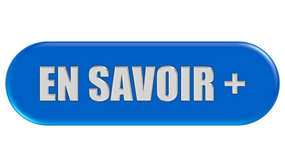 Button blau Seiten rund EN SAVOIR +