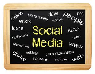 Social Media - Modern Business Concept
