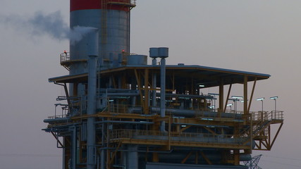Petrochemical complex, oil and gas industry