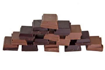 Chocolate pyramide