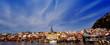 Küstenstadt in Schweden 1