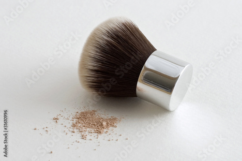 Kabuki Brush with Mineral Foundation