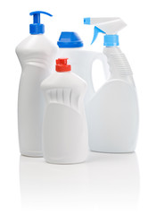 bottles for cleaning