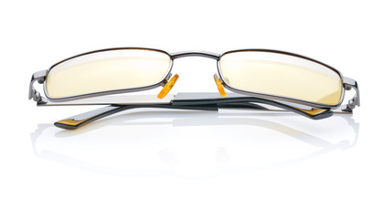 glasses isolated