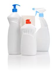 set of kitchen bottles
