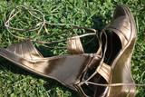 Chaussures à talon nu pieds poster
