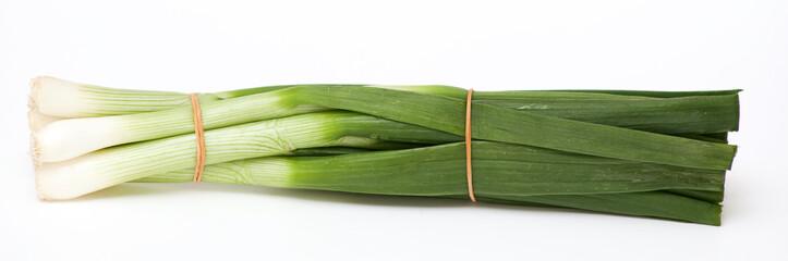 tied spring onion