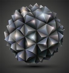 Dark Origami Ball.