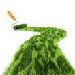 3d Grass paint roller