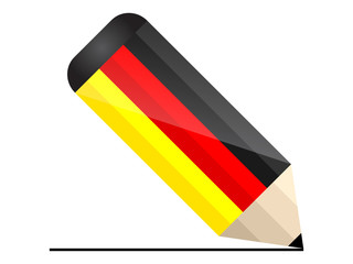 germany pencil