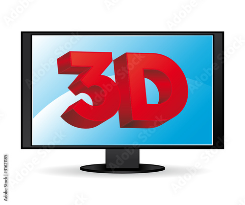 3D TV or computer screen