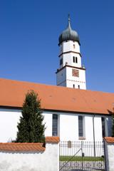 Bayrischer Kirchturm