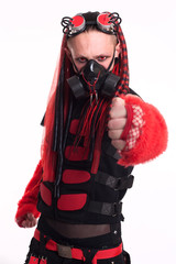 Gothic Model Male Fist
