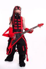 Gothic Guitarist Subculture