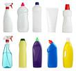 white hygiene beauty sanitary bottle product