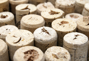 Wine cork tops