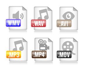 Media Datei Formate