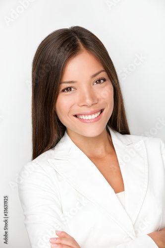 Young woman professional business portrait