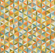 Seamless flower of life pattern in vintage colors