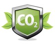 CO2 shield icon
