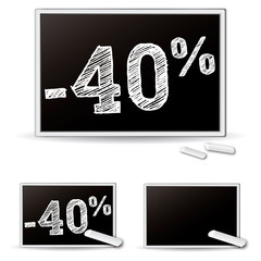 Ardoise promotions -40%