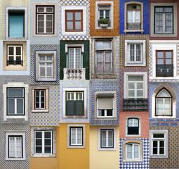 fototapeta Lizbona okna