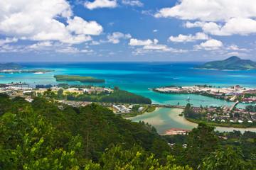 Marina de Victoria, capitale des Seychelles