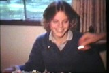 Teenage Girl Blows Out Birthday Candles (1979 Vintage 8mm film)